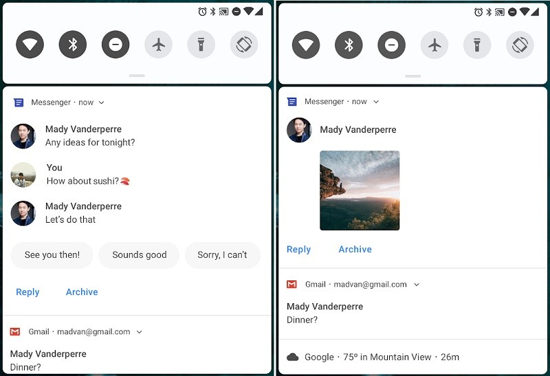 android-p-developer-preview-improved-messaging