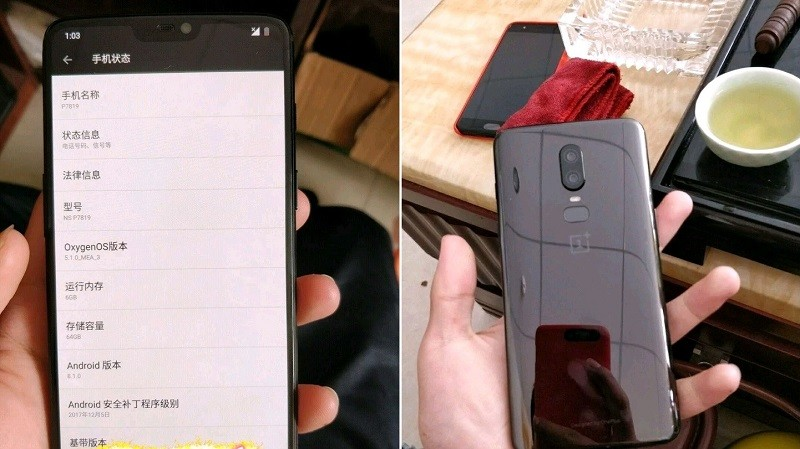 New OnePlus 6 leak reveals more specifications
