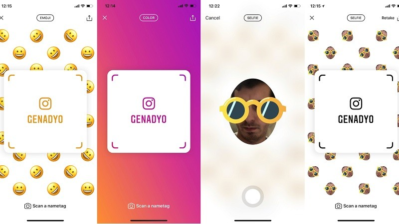 Instagram will soon launch a Snapcodes competitor called 'Nametags'