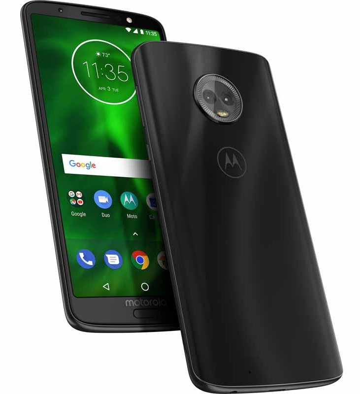 Motorola to launch the Moto G6 and Moto G6 Play in India