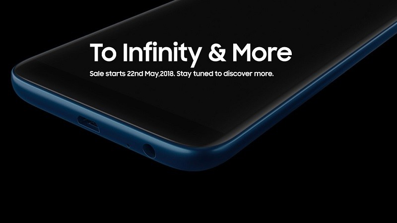 Samsung Galaxy J6 with Infinity Display to launch on May 21, sale from May 22