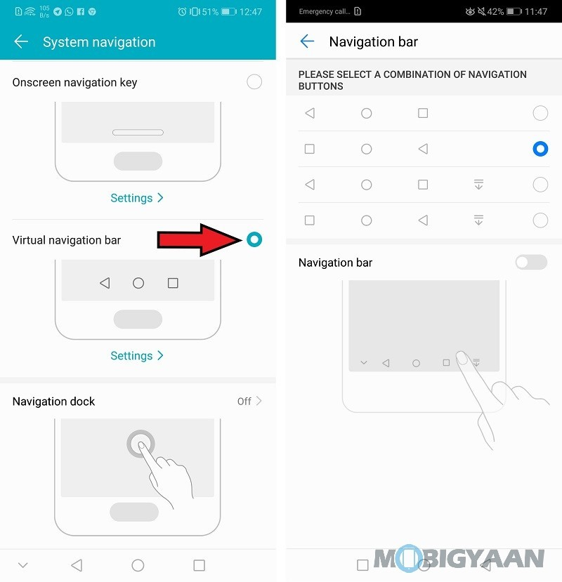 Honor-10-Top-Features-and-Tricks-Changing-Navigation-Button-Style