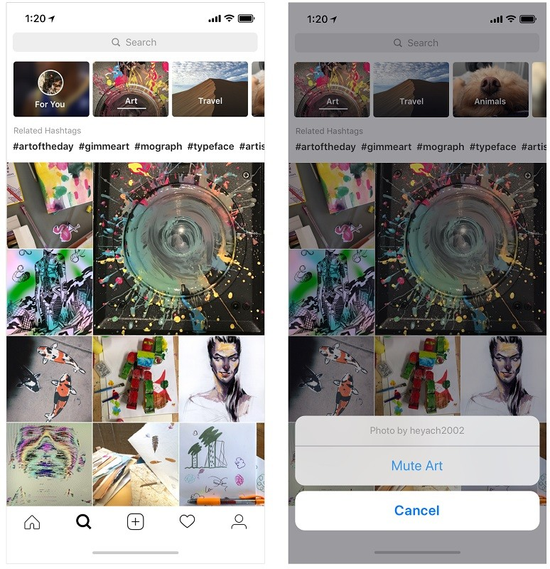 instagram-video-chat-redesigned-explore-tab-ar-camera-filters-2
