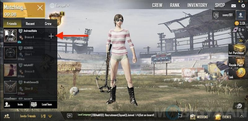 How to invite or join friends in PUBG Mobile [Guide]