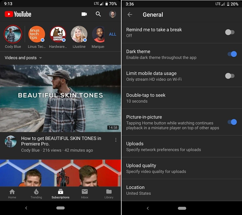 youtube-dark-mode-android-roll-out-select-users-1