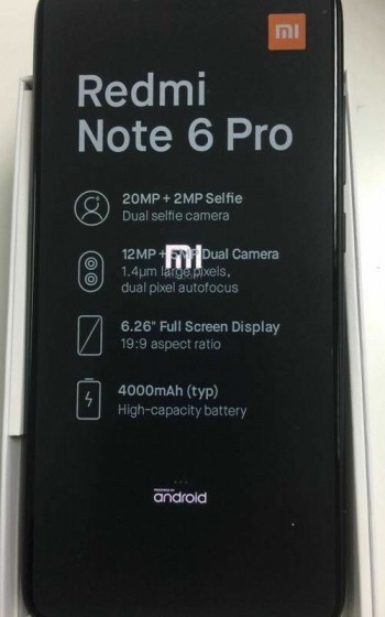Xiaomi-Redmi-Note-6-Pro-specs-revealed-by-leaked-images-features-quad-cameras-2