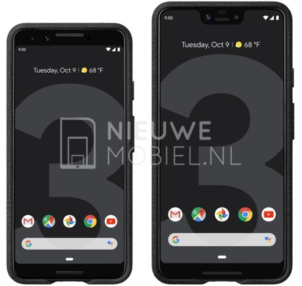 google-pixel-3-pixel-3-xl-leaked-press-renders-1