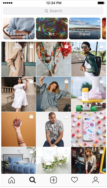 instagram-shopping-explore