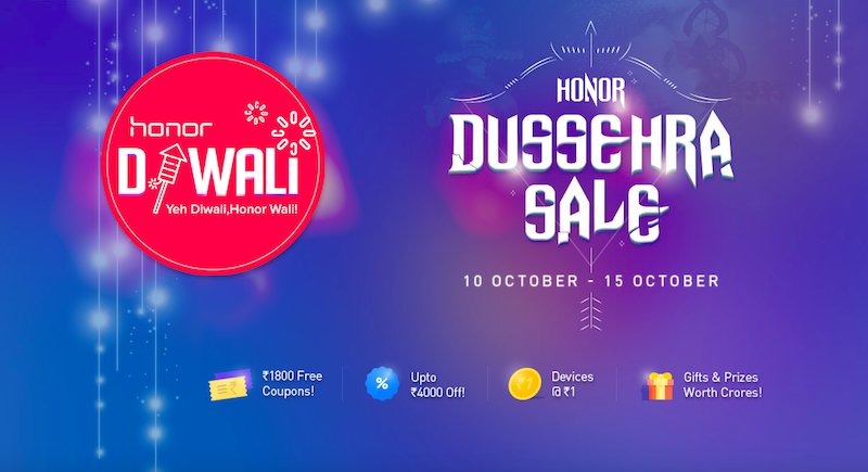 Honor-Smartphone-Offer-Diwali-Dussehra-Sale