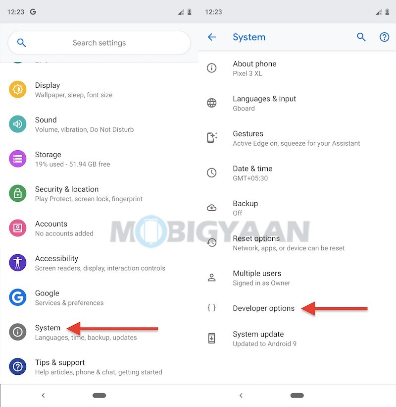 How-to-disable-notch-on-Google-Pixel-3-XL-Guide-0