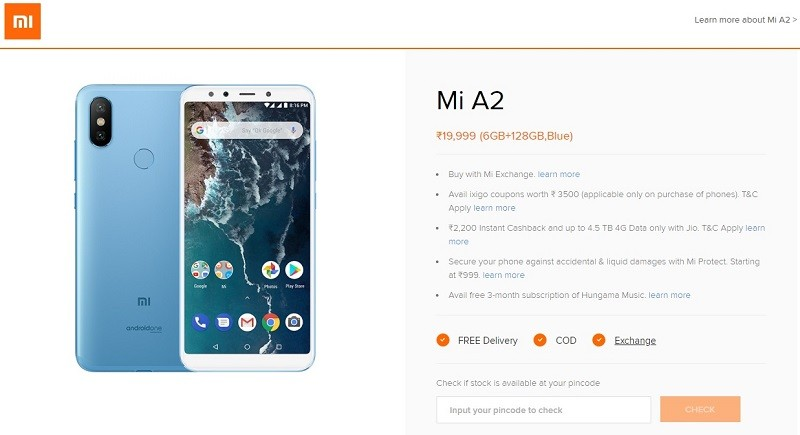 xiaomi-mi-a2-6-gb-ram-variant-india-price