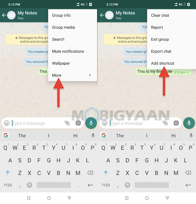 How to use WhatsApp for making notes or use it as a diary
