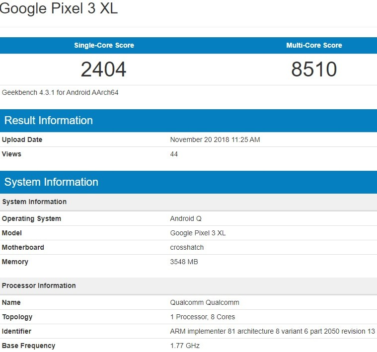 google-pixel-3-xl-android-q-geekbench