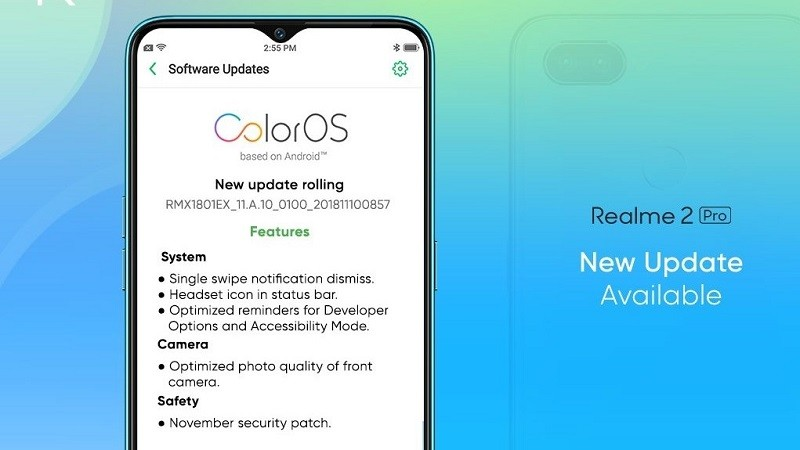 realme-2-pro-coloros-update-camera-optimization-november-security-patch