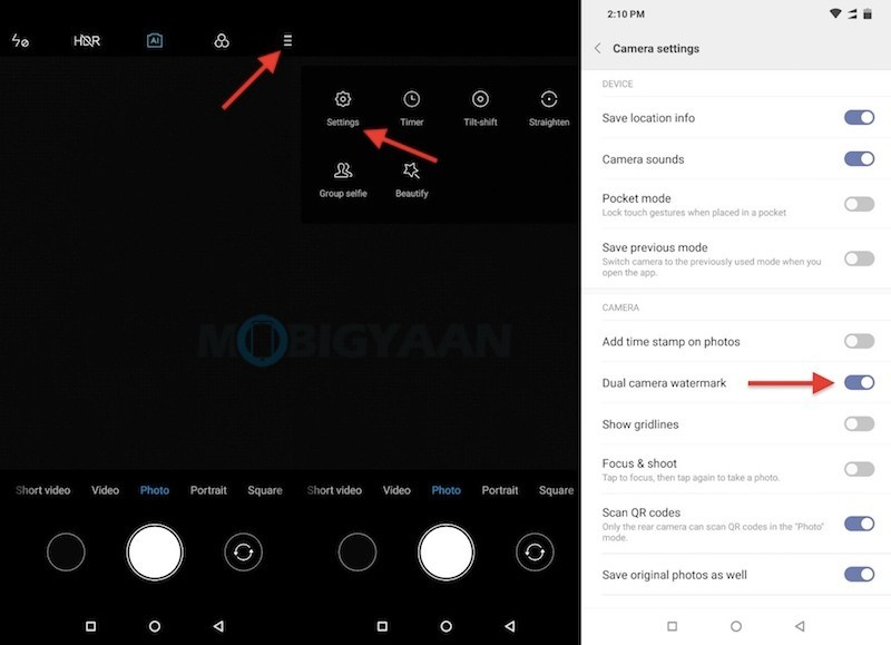 How To Add 'Shot On' Watermark To Your Photos On Android [Guide]