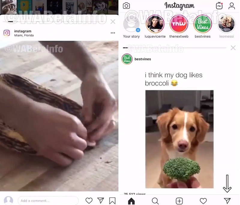 instagram-card-based-ui-test-android-ios