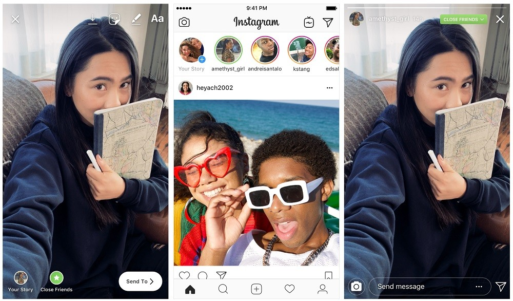 how to make close friends list on instagram