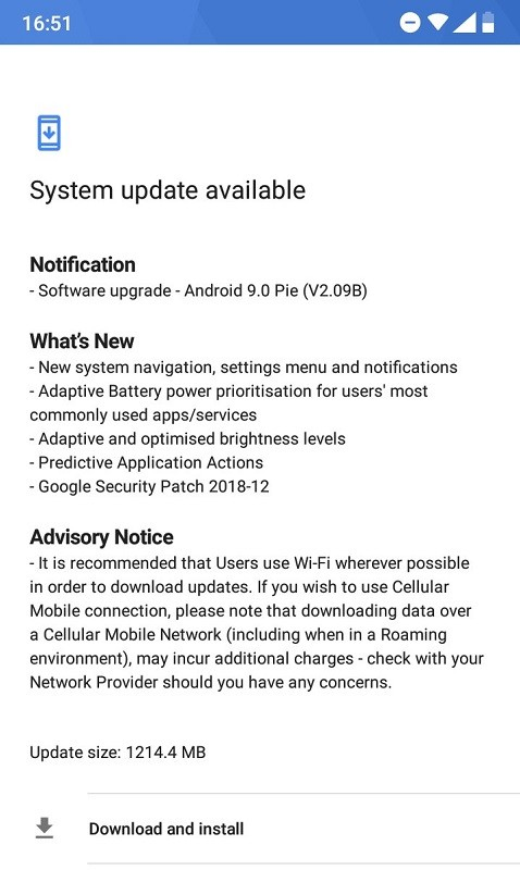 nokia-5-1-plus-android-9-pie-update