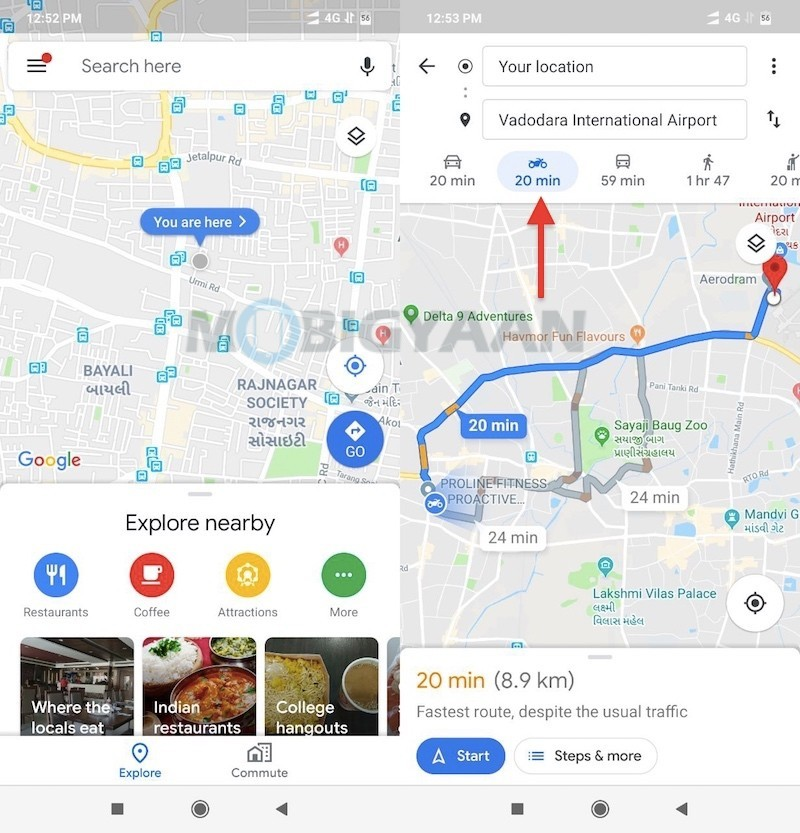 How-To-Navigate-In-Motorcycle-Mode-In-Google-Maps-Guide