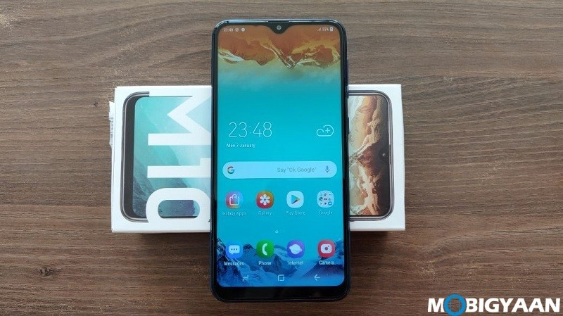 what is the best mobile track program Galaxy M10