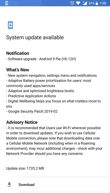 nokia-6-2017-android-pie-update