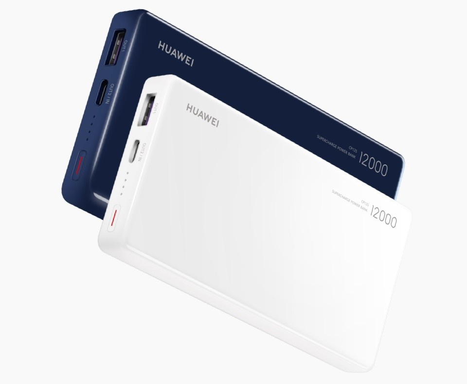 HUAWEI-12000mAh-Power-Bank