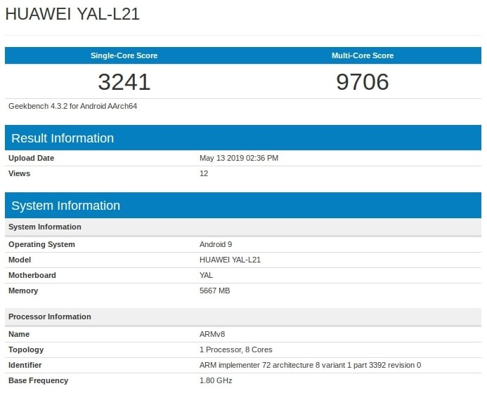 honor-20-geekbench
