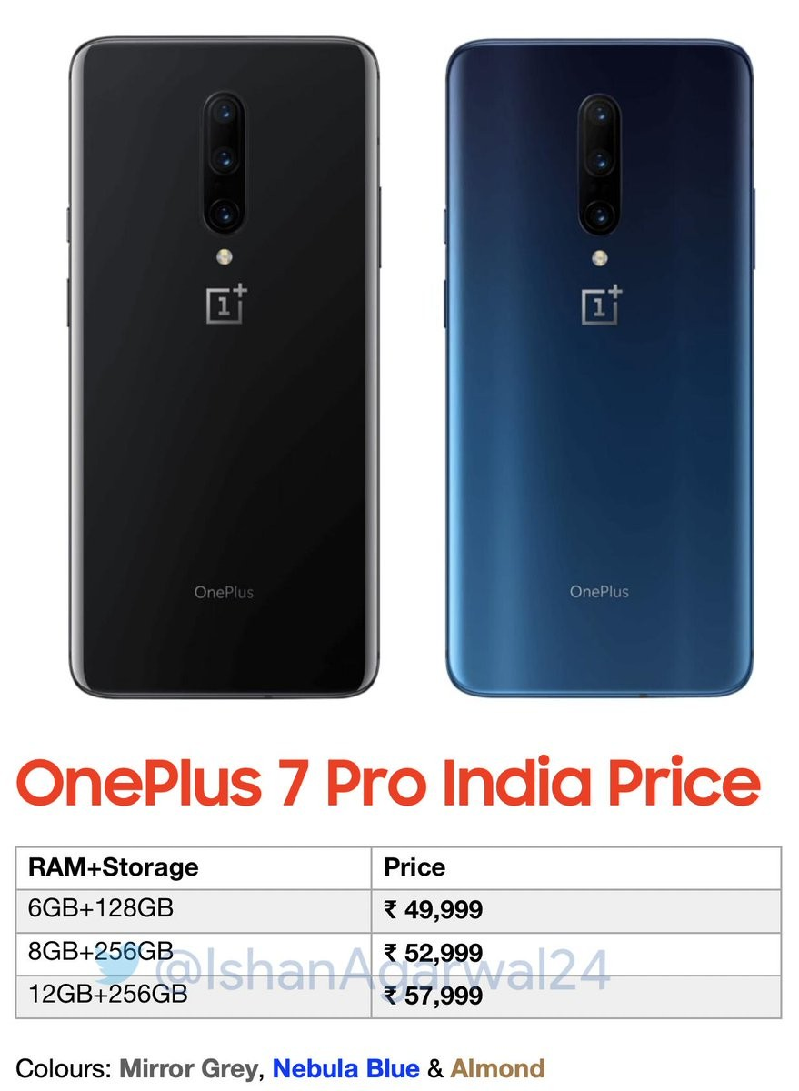 oneplus-7-pro-india-pricing-leak