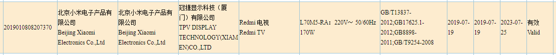Redmi-TV-3C-certified