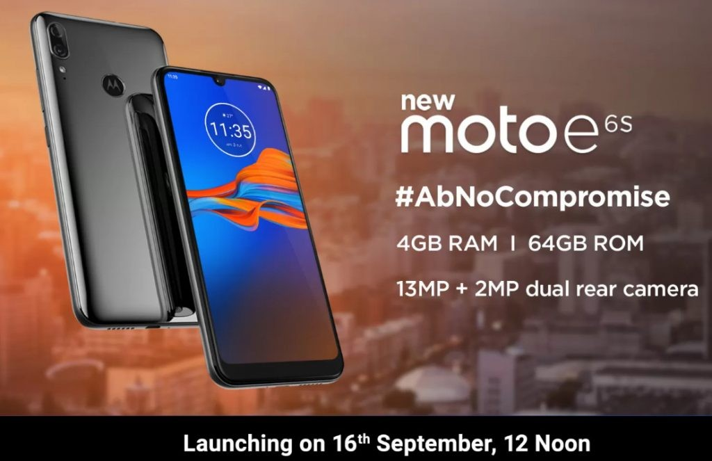 Moto-E6s-India-launch-date