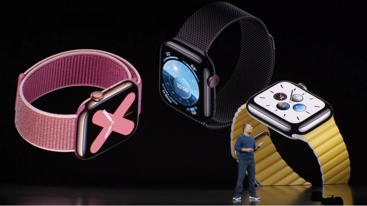 Apple unveils Apple Watch Series 5 with always-on display for $399