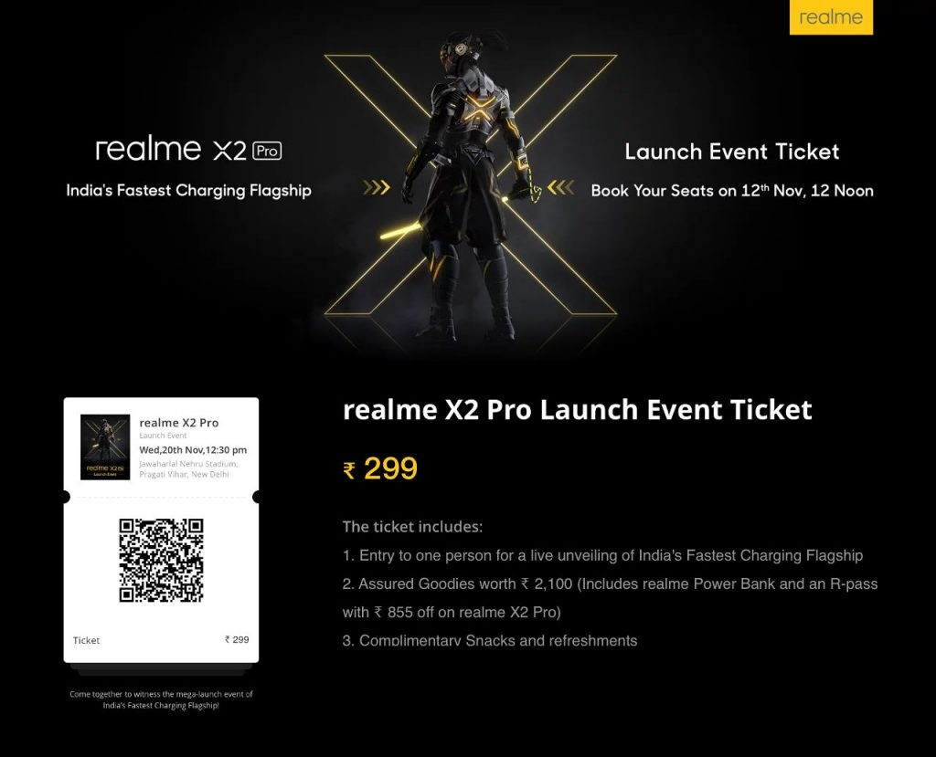 realme-X2-Pro-Launch-Event-Ticket