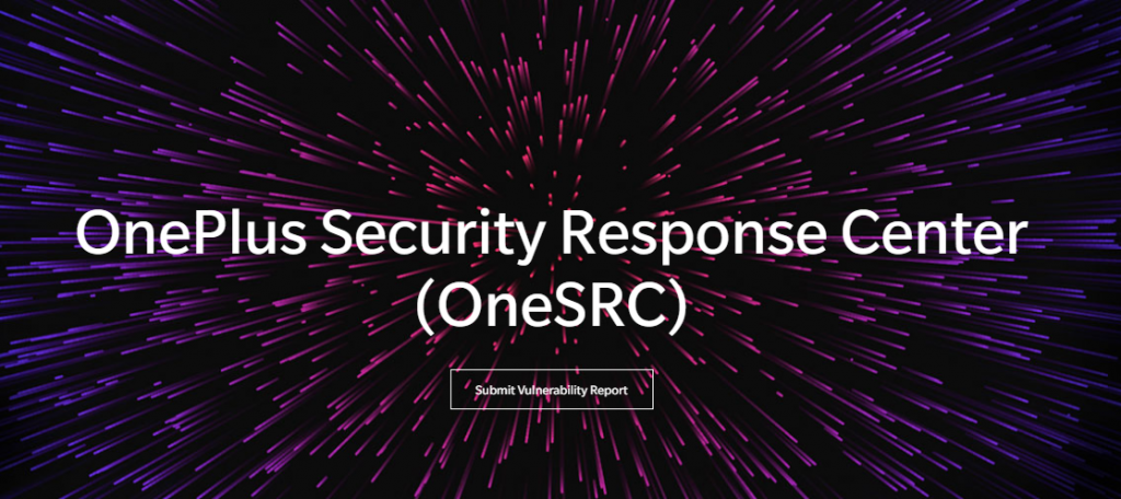 OnePlus-Security-Response-Center