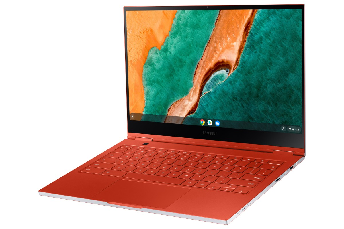 Samsung-Galaxy-Chromebook-Red