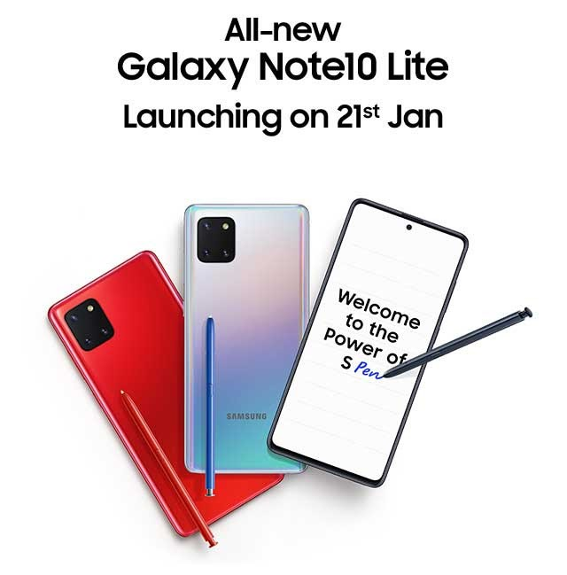 Samsung-Galaxy-Note-10-Lite-India-launch-date