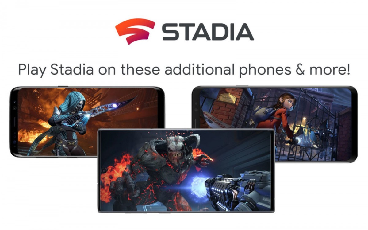 Google Stadia coming to Samsung, Asus, more phones on Feb 20