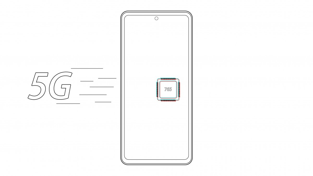 OnePlus Z Snapdragon 765 SoC vanishing tips with 5G support