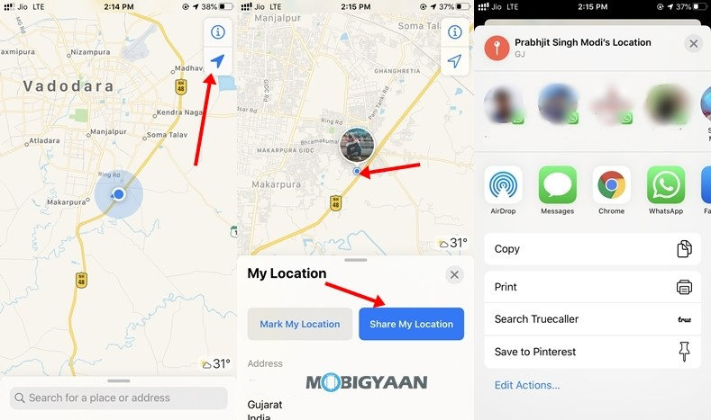 Share-Location-Apple-Maps