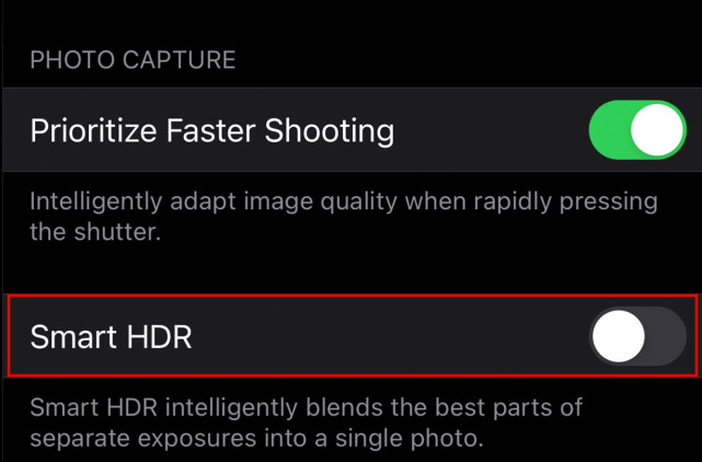 Disable-iPhone-12-Smart-HDR-2