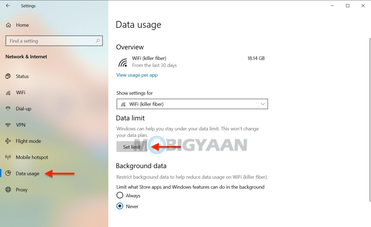 How-to-limit-Wi-Fi-data-on-Windows-10-4
