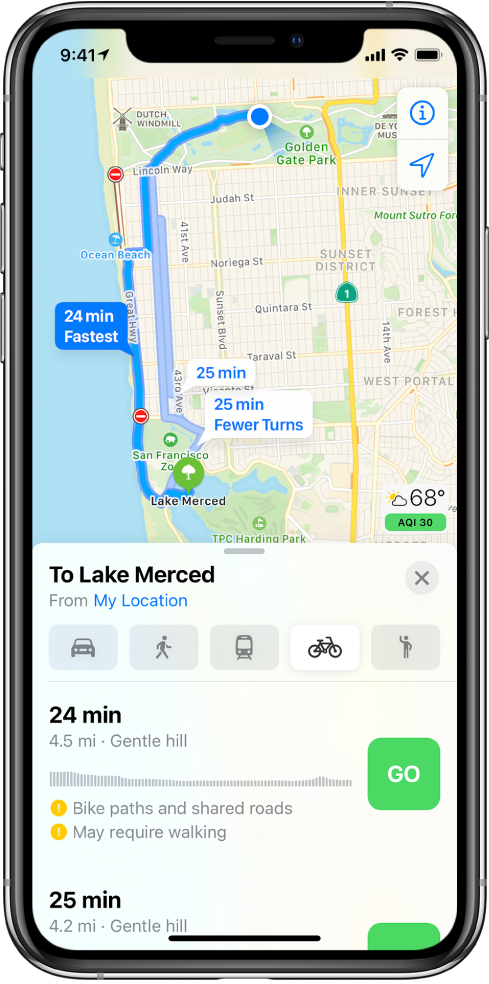 Apple-Maps-Cycling