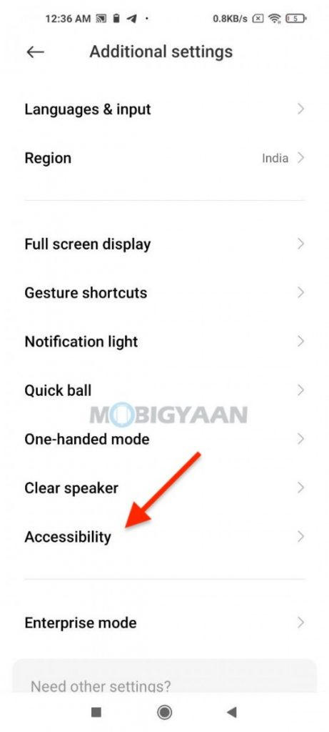 How-to-remove-Green-box-and-disable-Talkback-on-Android-smartphone-2-1-461x1024