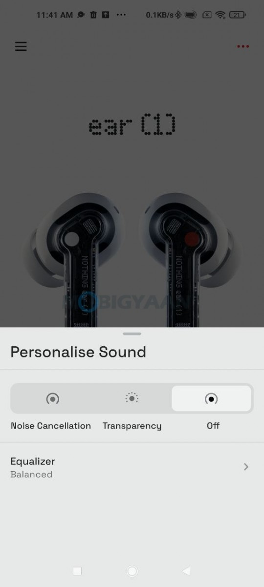 Nothing-ear-1-Review-Bluetooth-ear-1-app-5