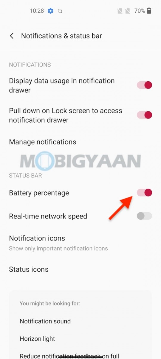 OnePlus-Nord-CE-5G-Battery-Percentage-Network-SPeed-In-Status-Bar-1
