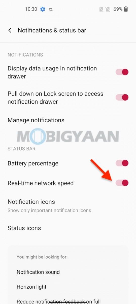 OnePlus-Nord-CE-5G-Battery-Percentage-Network-SPeed-In-Status-Bar-2